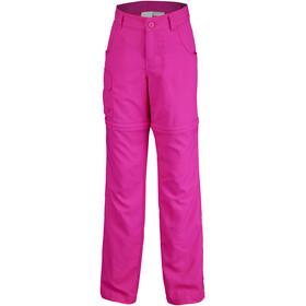 Columbia Silver Ridge III Convertible Broek Meisjes, haute pink